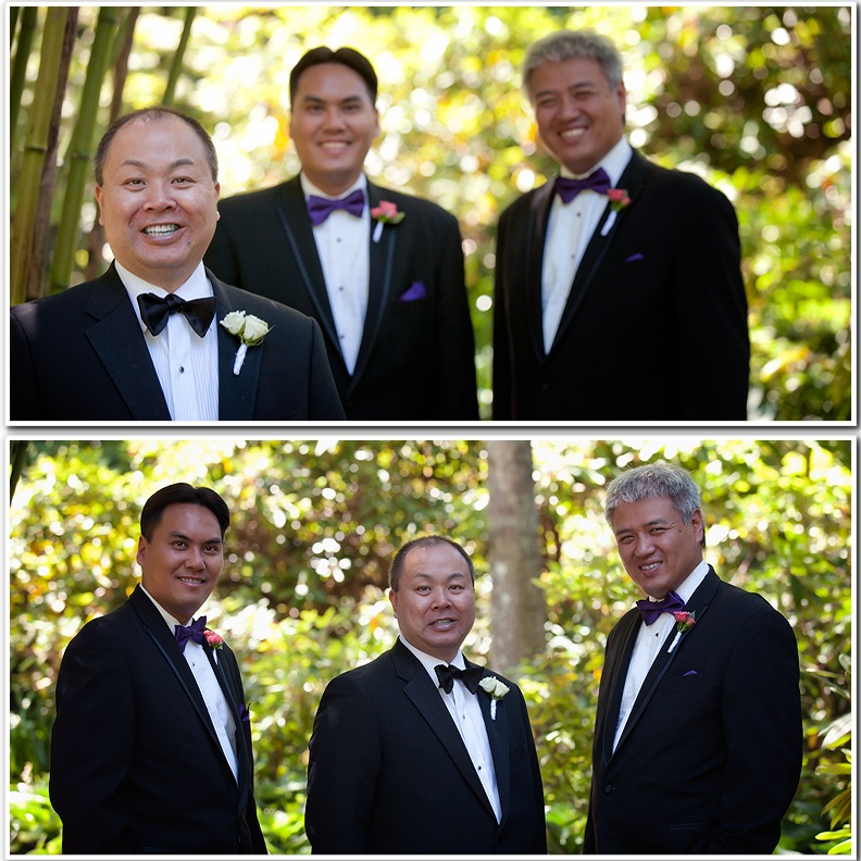 Groom with groomsmen pictures