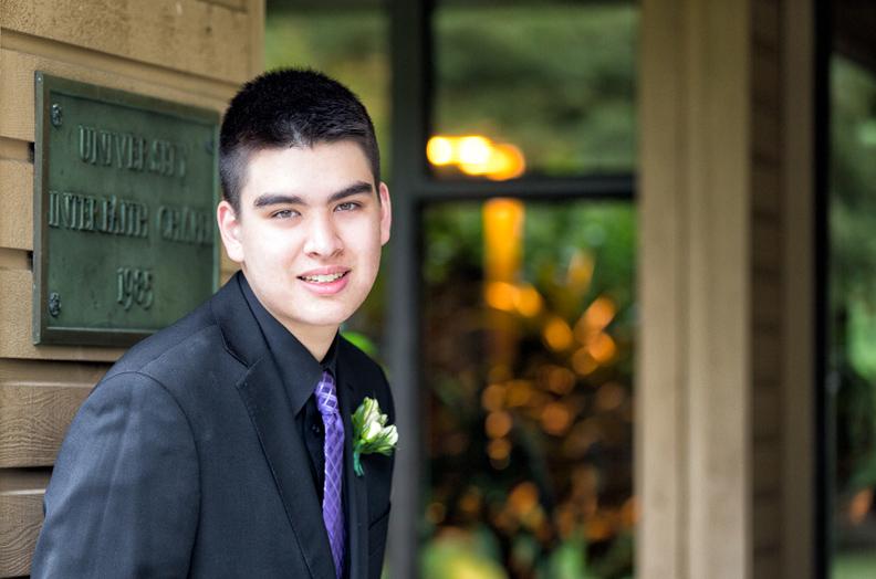 Daniel graduation photo